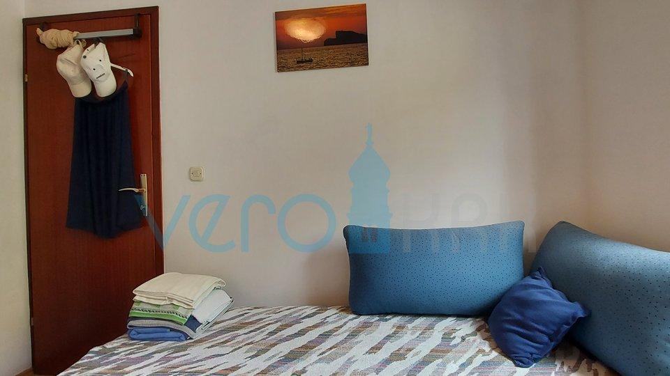Malinska,otok Krk, prekrasan dvosoban stan sa otvorenim pogledom na more