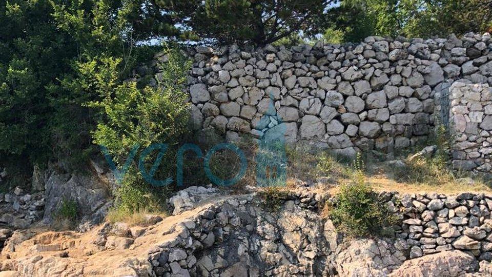 Šilo, otok Krk, građevinsko zemljište 1 red do mora