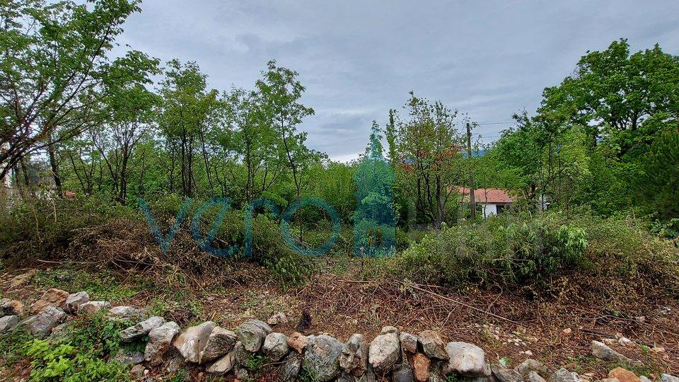 Dobrinj, šira okolica, građevinsko zemljište od 1266 m2