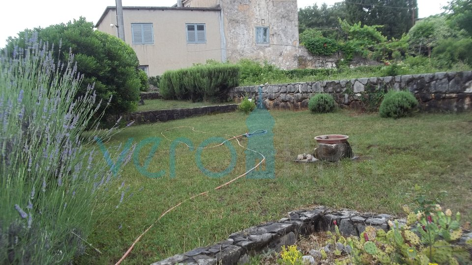 Island of Krk, Dobrinj, surroundings, renovated stone house with a large garden