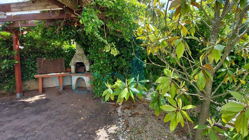 Uvala Soline, otok Krk, apartman na 100m od mora sa velikom okućnicom