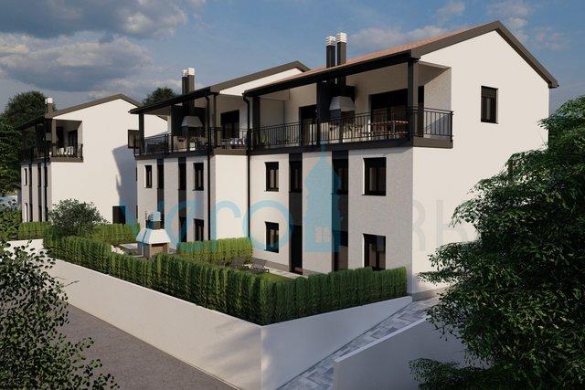 Bucht Soline, Insel Krk, Dreizimmerwohnung im Erdgeschoss mit Garten in einem Neubau