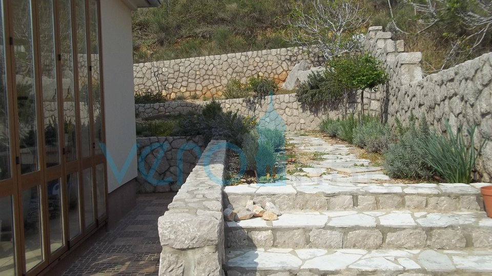 Island of Krk, Baska, Jurandvor, villa with pool and sea view