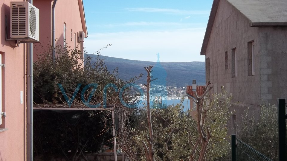 City of Krk, surroundings, OPPORTUNITY! two ground floor apartments with partial sea view