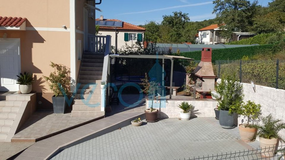 Island of Krk, Omisalj, beautiful house with panoramic sea view