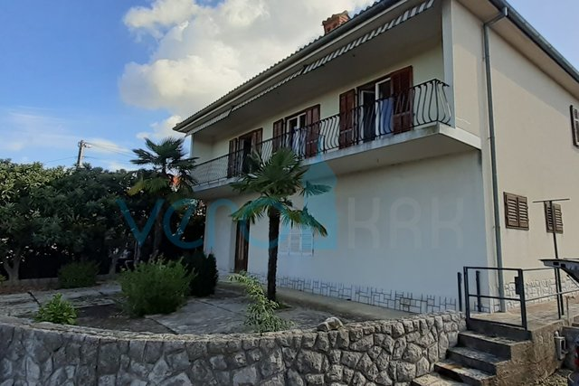 Island of Krk, Malinska, surroundings, detached house with sea view