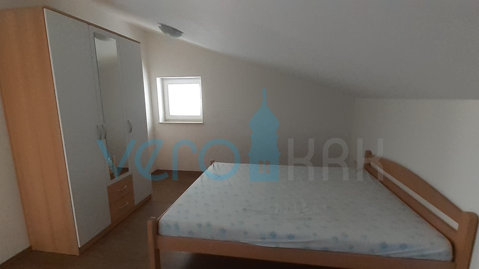Island of Krk, Malinska, surroundings, three bedroom apartment with partial sea view