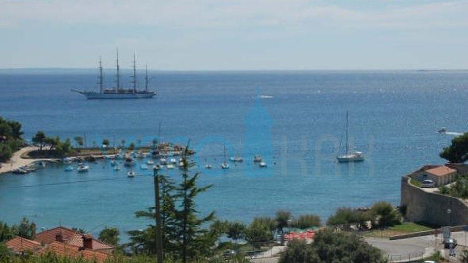 Island of Krk, Krk town, villa with permanent sea view