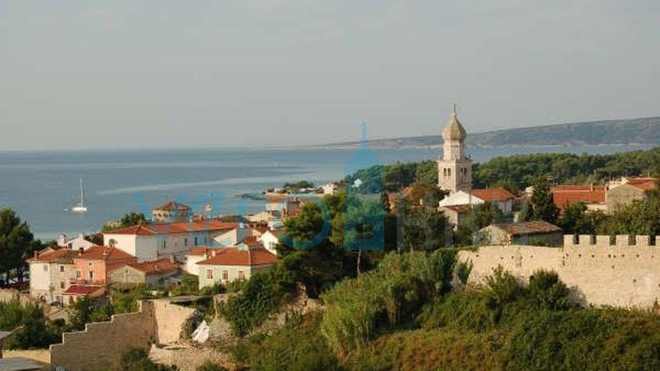 Otok Krk, grad Krk, vila s trajnim pogledom na more
