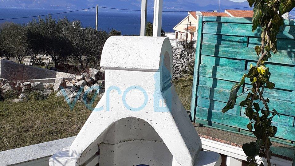 Insel Krk, Malinska, Umgebung, Doppelhaushälfte mit Aussicht