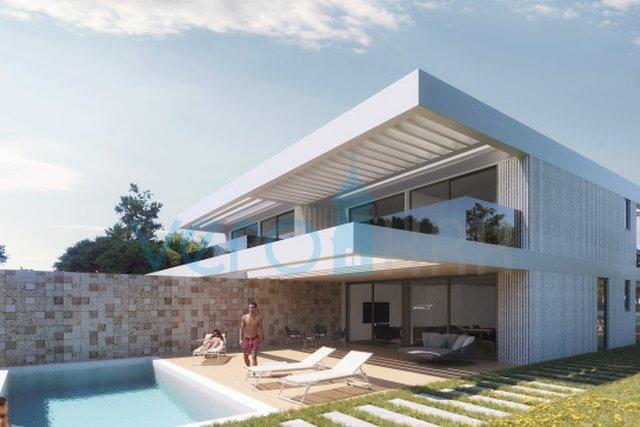 Otok Krk, Malinska, okolica, luksuzna villa na 150m do mora