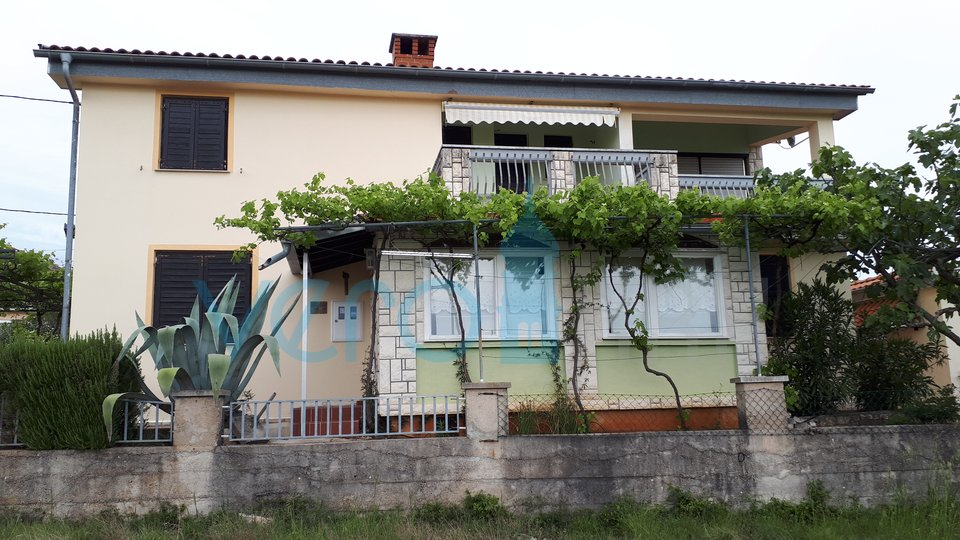 The island of Krk, Krk surroundings, detached house with three apartments