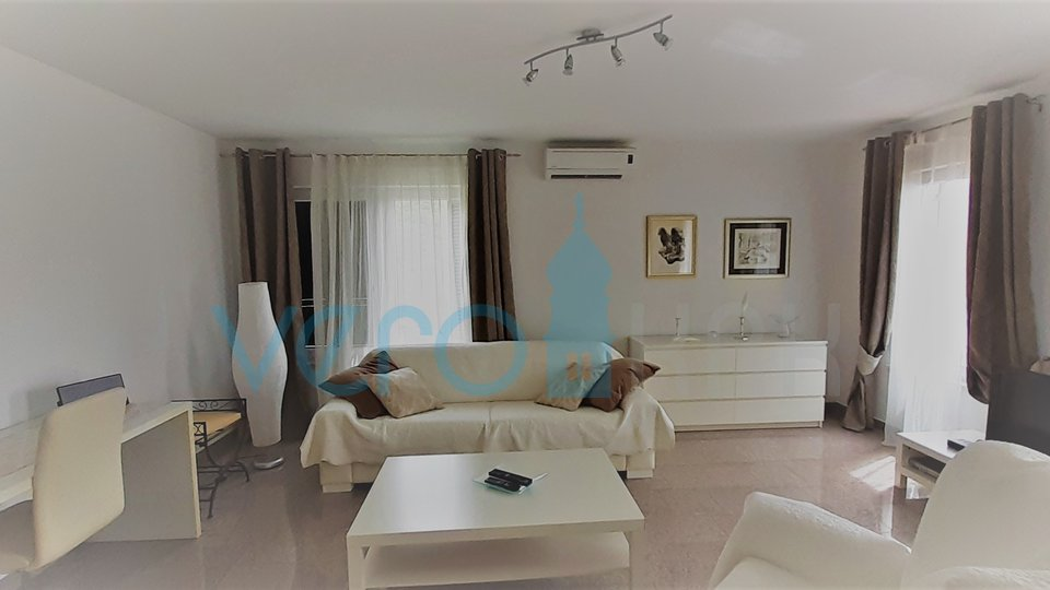Punat, island of Krk, luxury apartment with open sea view