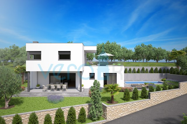 Malinska,surroundings,modern villa with the pool