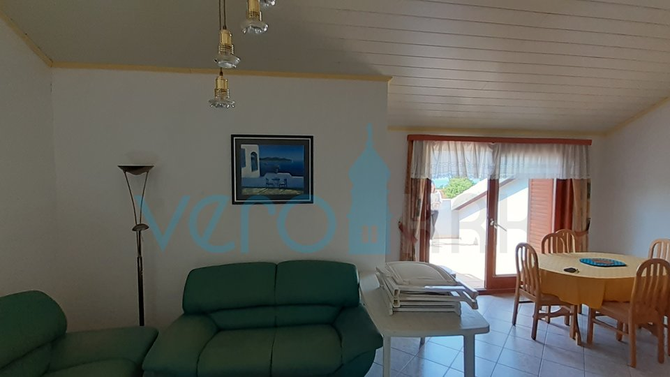 Malinska, island of Krk, apartment 90m2 with open sea view