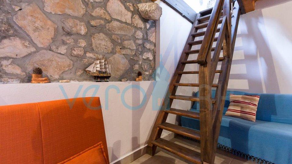Insel Krk, Umgebung, renoviertes authentisches Steinhaus