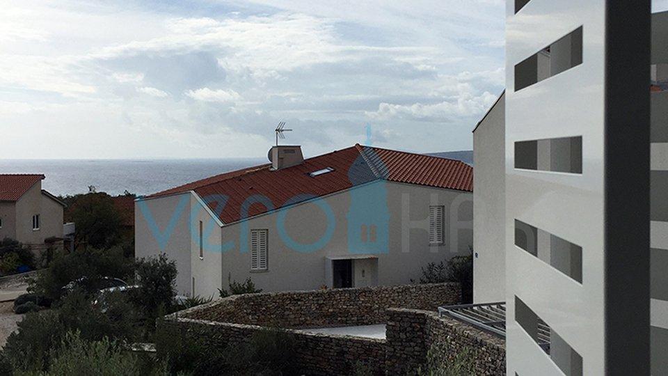 Grad Krk, moderni duplex s pogledom na more