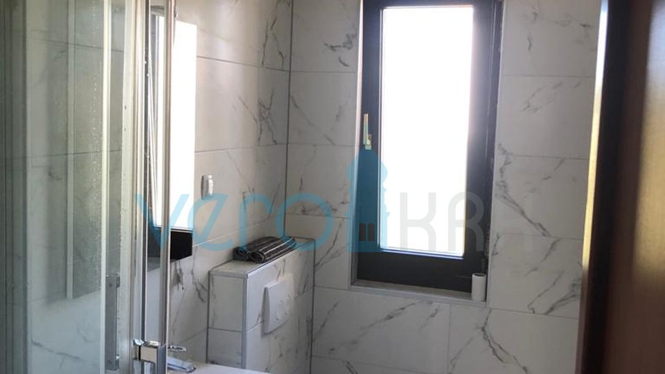 Krk City, two bedroom apartment with living room in a great location