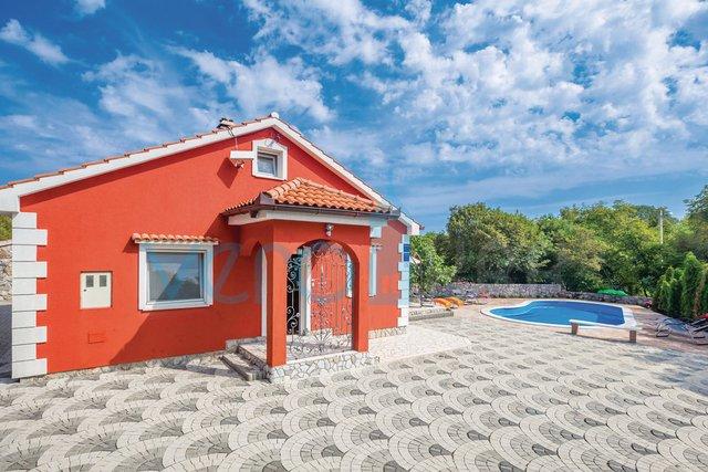 Otok Krk, Dobrinj, atraktivna kuća za pravi odmor na otoku