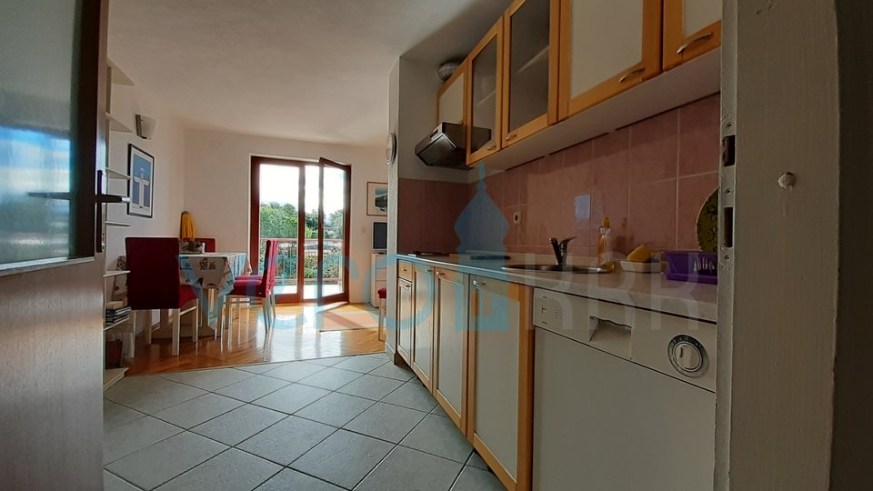 KRK CITY, DUPLEX WITH TWO TERRACES AND BALCONY, 200M FROM THE SEA!