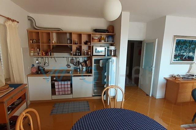 Stadt Krk, Zwei-Zimmer-Wohnung mit Meerblick