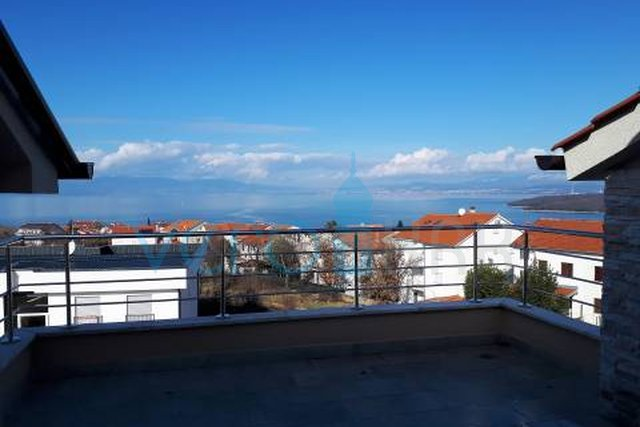 Island of Krk, Njivice, two bedroom apartment with panoramic sea views