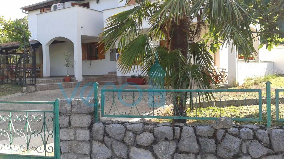 Krk town, beautiful holiday house surroundings