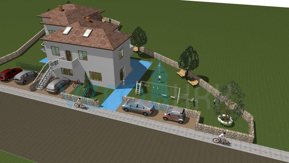 Die Insel Krk, Krk, Einfamilienhaus mit großem Garten am Meer