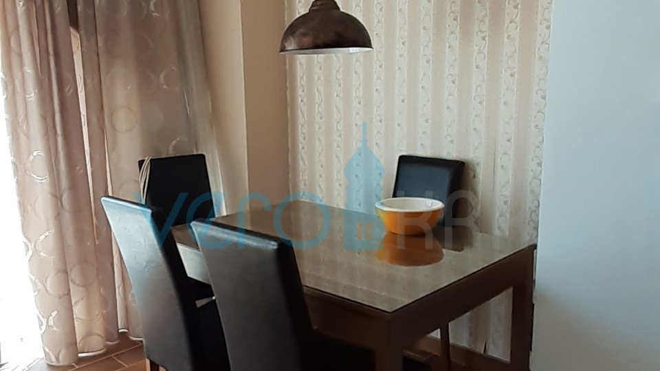 The town of Krk, three bedroom apartment with garden on the ground floor