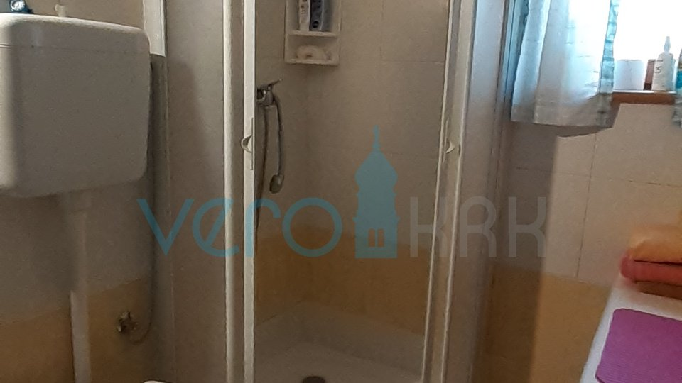 Krk, center, two bedroom apartment with sea view