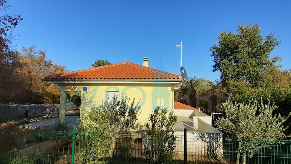 Isola di Krk, Dobrinj, dintorni, casa indipendente con due appartamenti