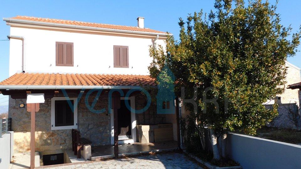 The island of Krk, Dobrinj, surroundings, detached stone house