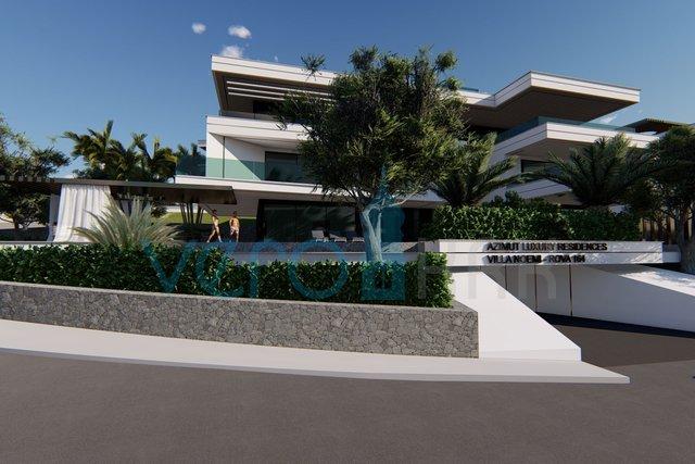 Malinska, Luxusapartment 70 m vom Strand entfernt, am gewünschten Ort