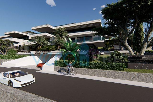 Malinska, luxuriöse Wohnung im Erdgeschoss mit Pool 70 m vom Strand entfernt, in der gewünschten Lage
