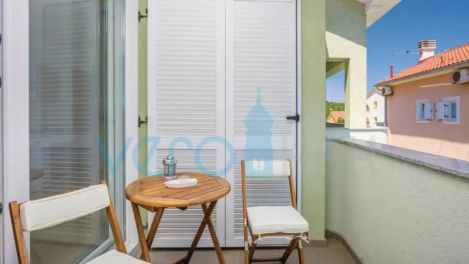 Čižići, island of Krk, duplex apartment with the garden and the sea view