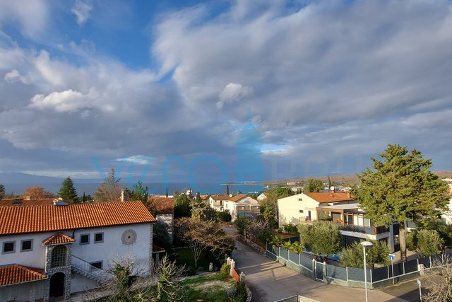 Island of Krk, Malinska, two modern apartments in a prime location overlooking the sea
