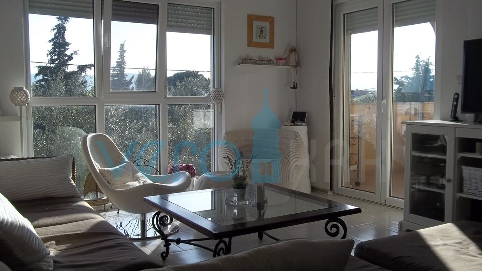 Island of Krk, surroundings, comfortable, nicely decorated apartment with panoramic sea views
