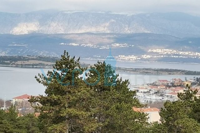 Klimno, otok Krk, dvosoban stan 90m2 sa galerijom i pogledom na more