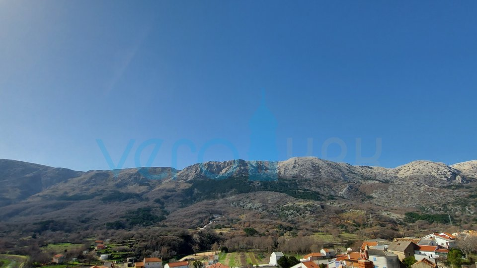 The island of Krk, Draga Bašćanska, charming renovated old house 64m2 with garden