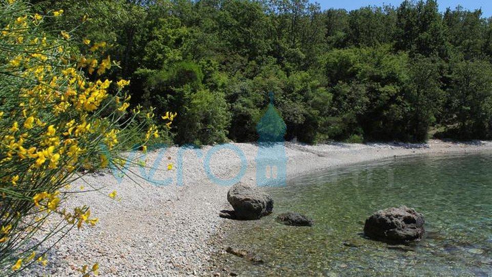 Die Insel Krk, westlicher Teil, Baugrundstück und Olivenhain 2953m2