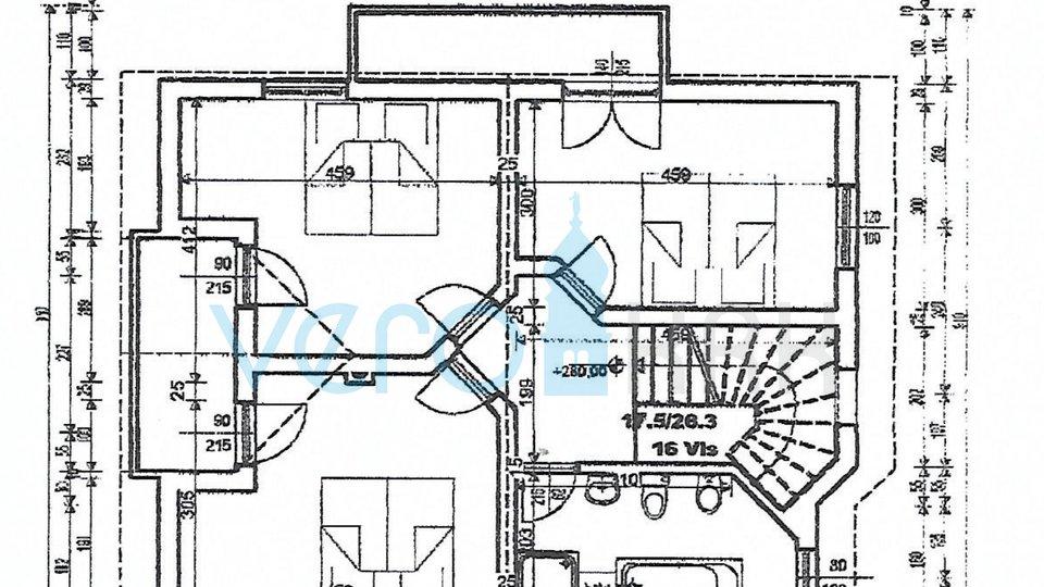 Mesto Krk, širša okolica, zazidljiva parcela 500m2 z gradbenim dovoljenjem