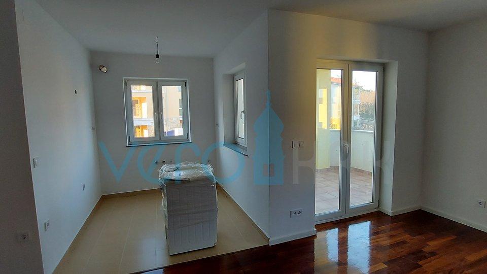 Cizici, Panoramablick von der Terrasse einer Wohnung mit zwei Schlafzimmern